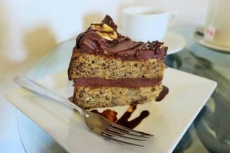 Gâteau chocolat/banane