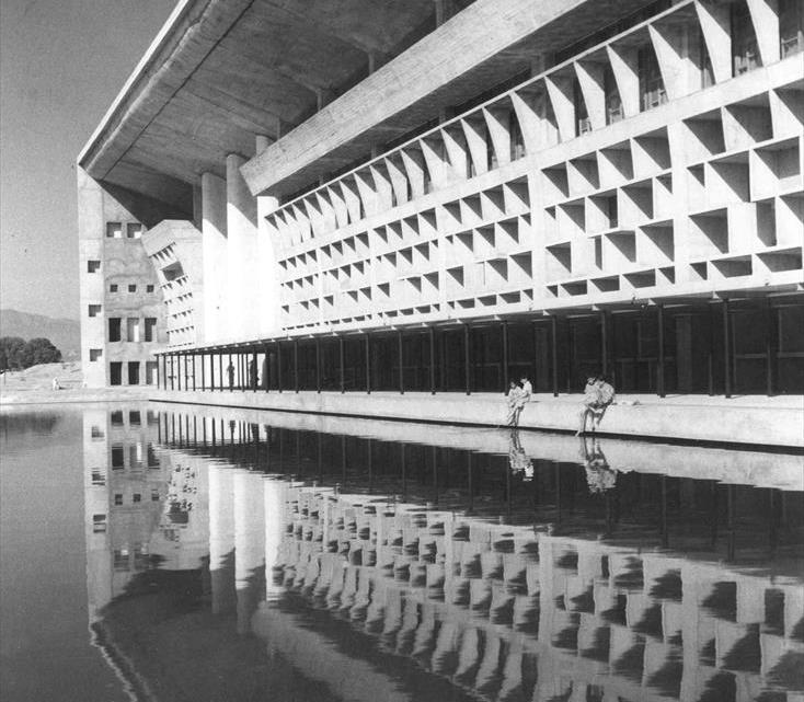 Le Corbusier en Inde