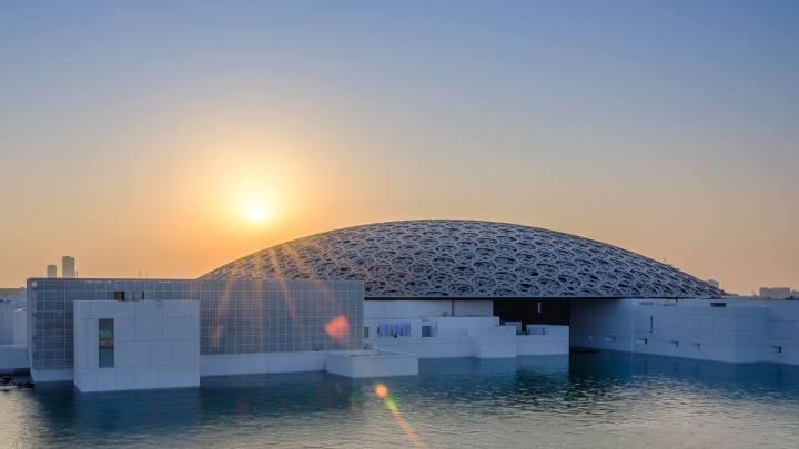 Franck Riester au 1er anniversaire du Louvre Abu Dhabi