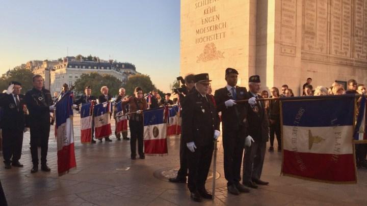 Les  Français de l'étrangers  rendent  hommage à leurs morts  par Carole Biot-Stuart