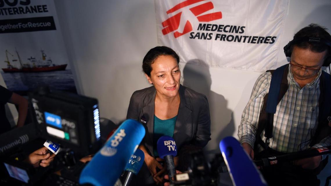 Sophie Beau, la Française qui sauve des vies en mer