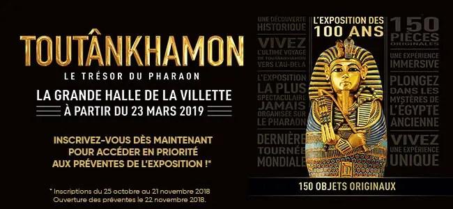 Toutânkhamon, le trésor du Pharaon – L'exposition du siècle à Paris