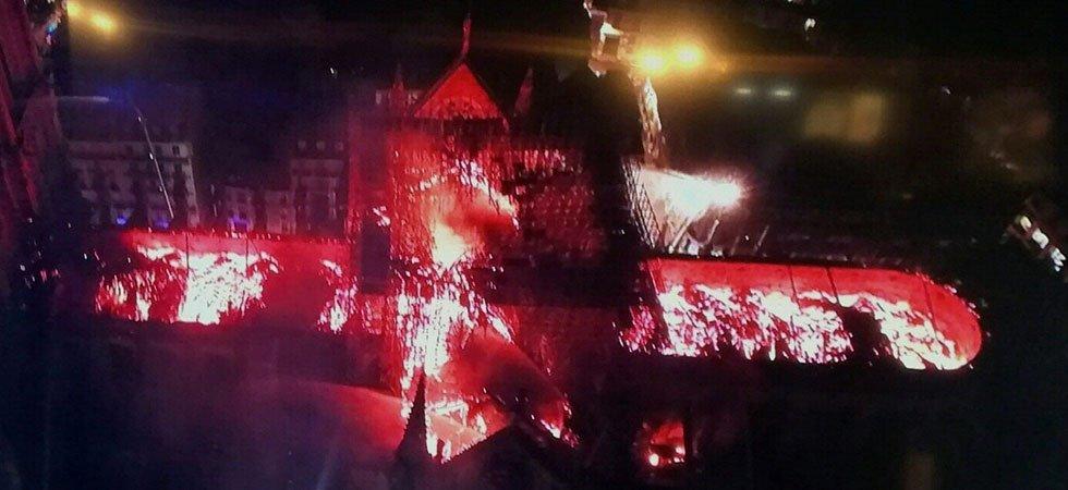 Notre Dame de Paris – Les Images du drame – Les réactions de la matinée