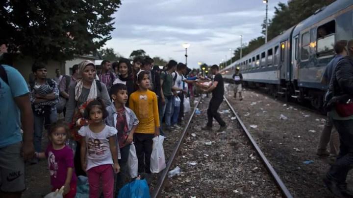 Repli des demandes d'asile en Europe