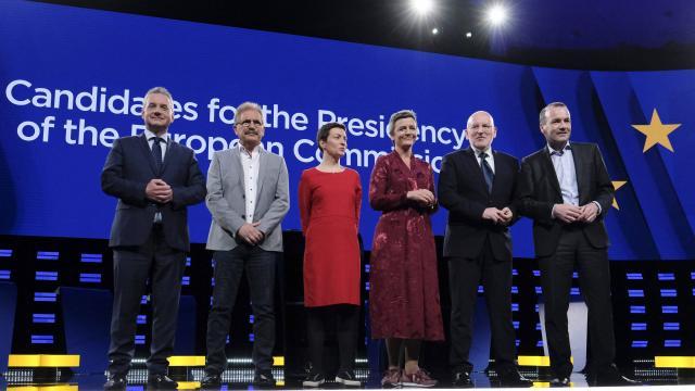 Revivez le débat des candidats à la Présidence de la Commission Européenne ( vidéo non géo-bloquée)