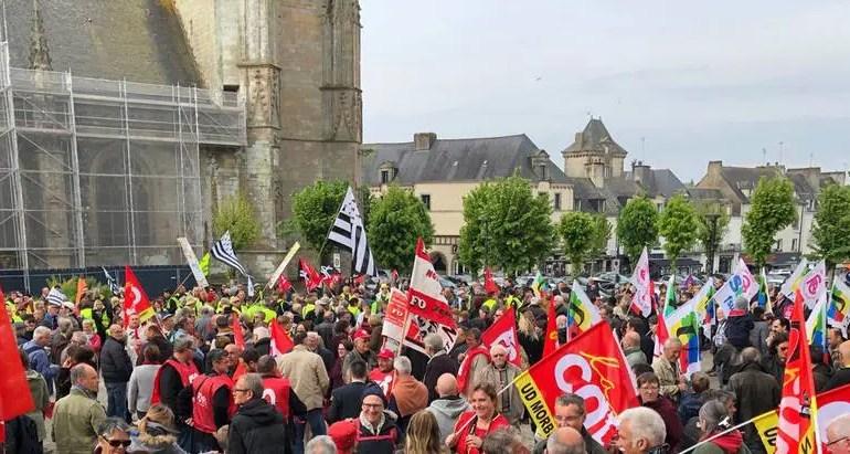 150 000 manifestants en France pour le Premier Mai
