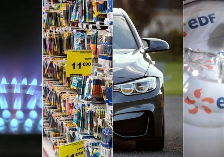 Premier aout : Convertir son auto française : des changements, allocations ce qui change au retour, Energie...