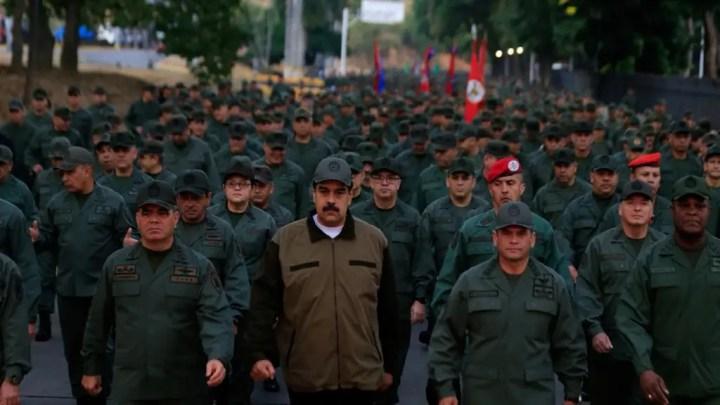 Maduro réactive les Farcs