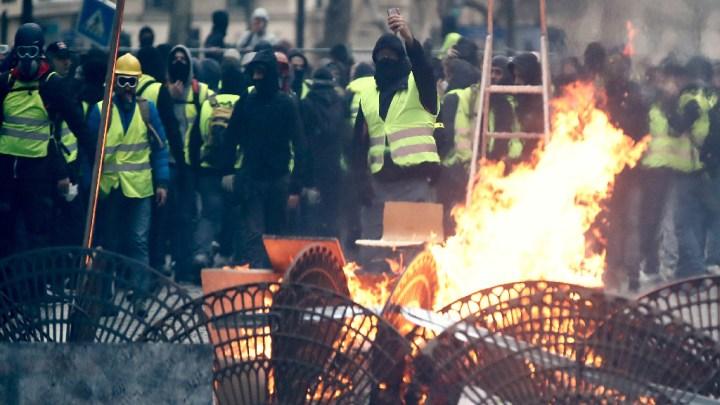 Révoltes des citoyens.