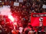 Les grèves massives mettent Macron à rude épreuve