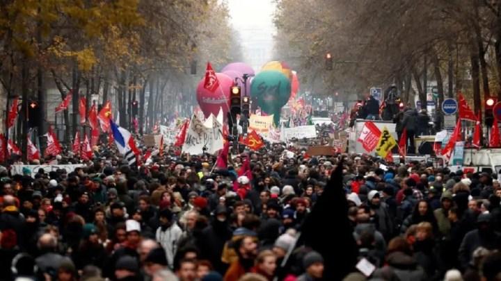 Réforme des retraites : Nouvelle journée de mobilisation en France