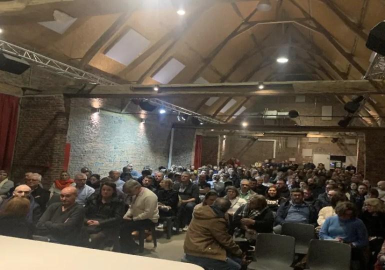 Un groupe FB face à Bercy ! Hier 400 français étaient réunis, en Belgique, contre la réforme fiscale