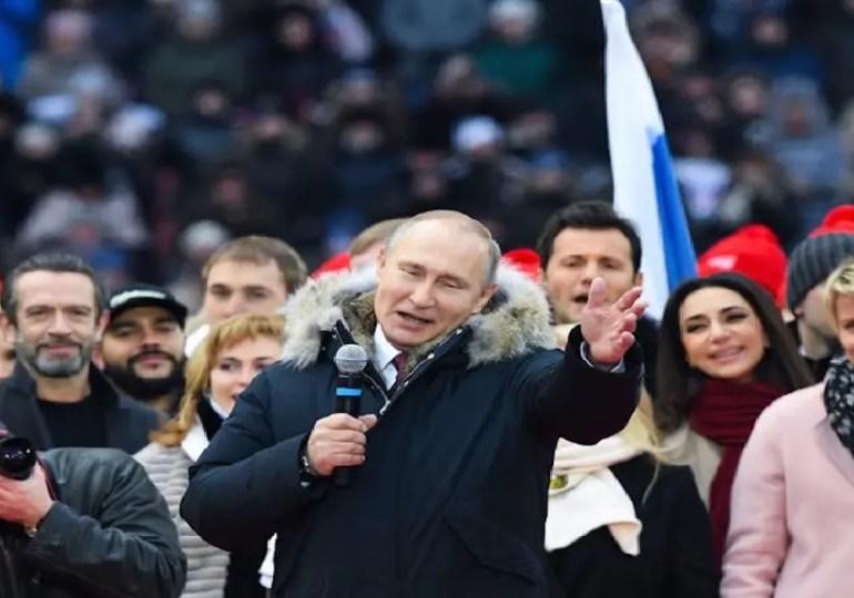 Le coronavirus immunise Poutine.