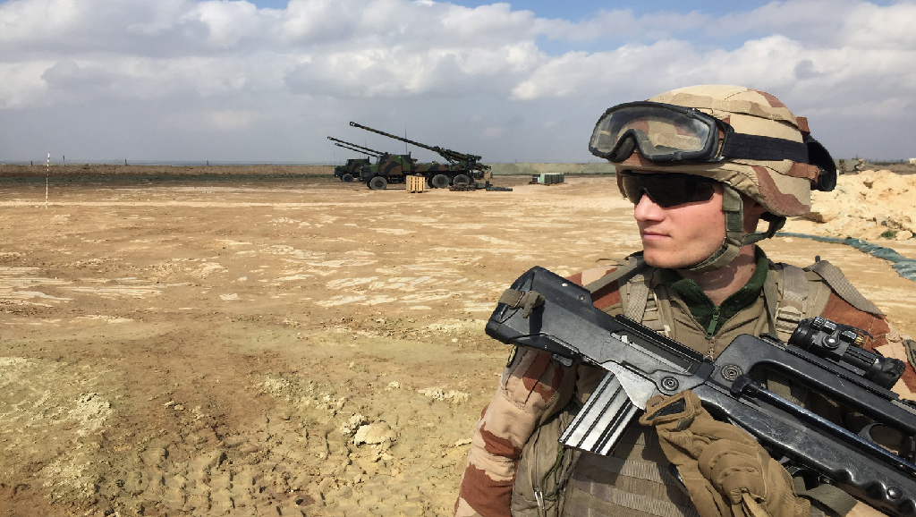 La France retire ses troupes d'Irak