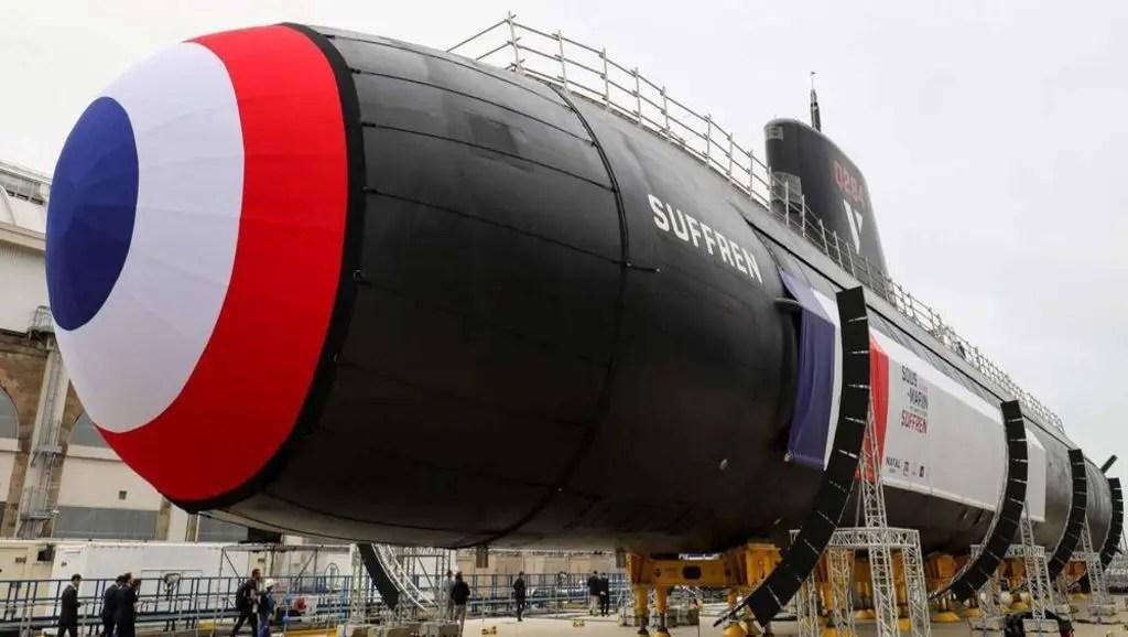 Le nouveau sous-marin nucléaire français, un Ambassadeur fort et discret.