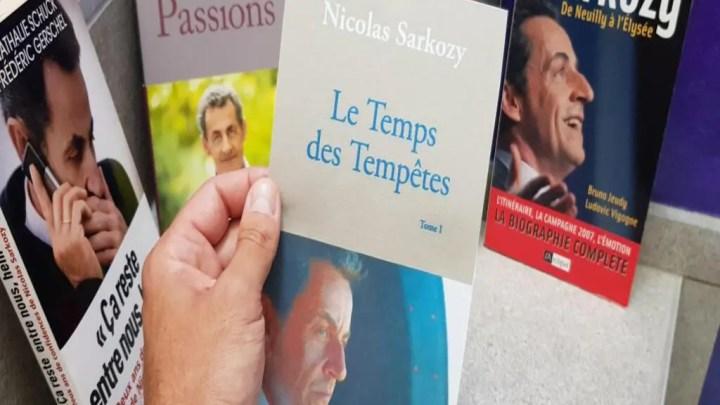 Nicolas Sarkozy, un nouveau livre «révélations»
