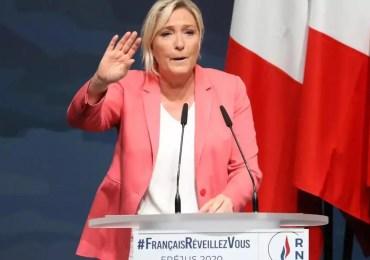 "Marine Le Pen: ""Eric Dupond-Moretti, c'est Christiane Taubira en pire"""