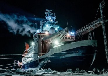 Retour du Polarstern de son expédition scientifique en Arctique