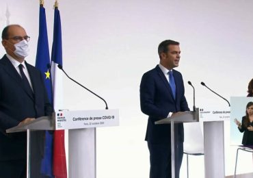 54 départements sous couvre-feux en France