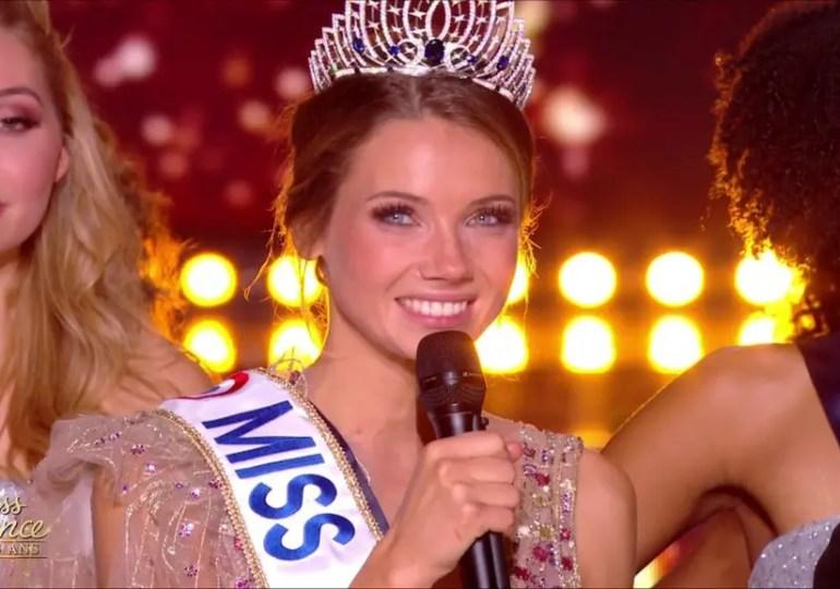 Miss Normandie, est élue Miss France 2021