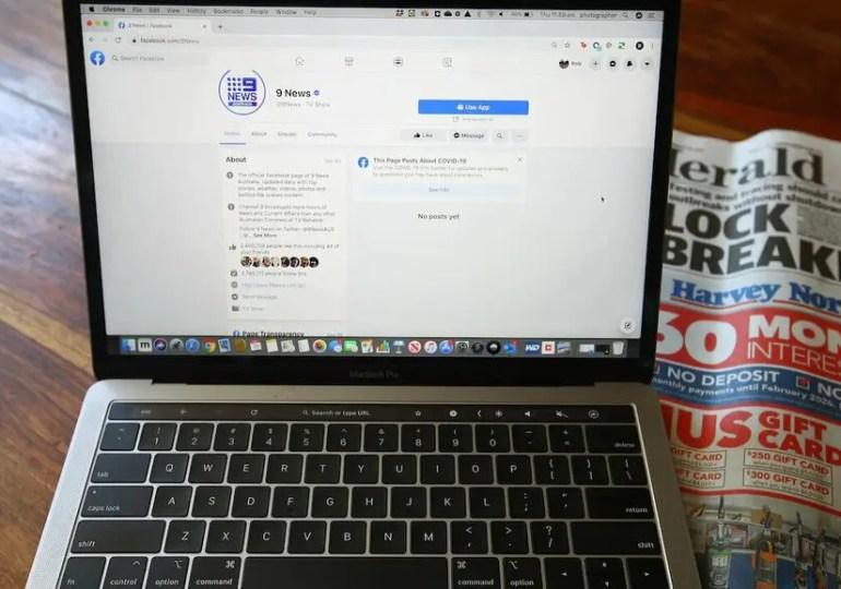 Facebook bloque la presse en Australie
