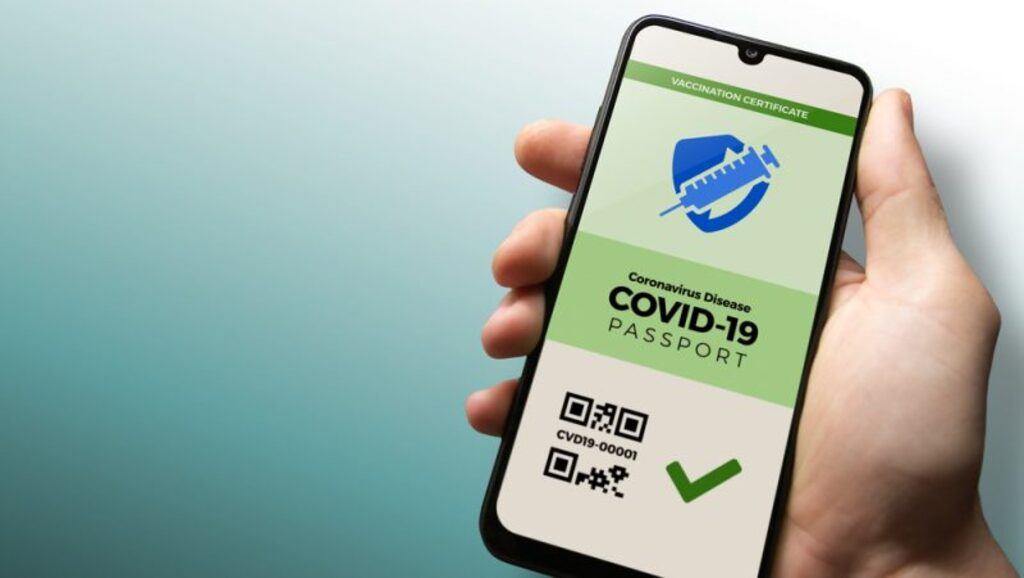 certificat vert numérique