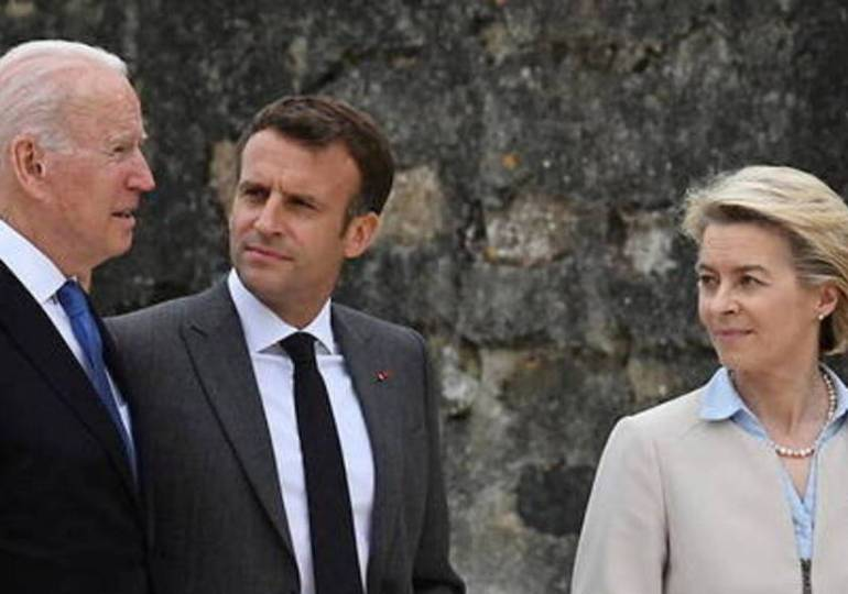 UE - Etats-Unis : Joe Biden rencontre les dirigeants européens