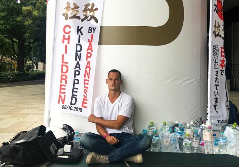 Enlèvement parental : un Français en grève de la faim à Tokyo