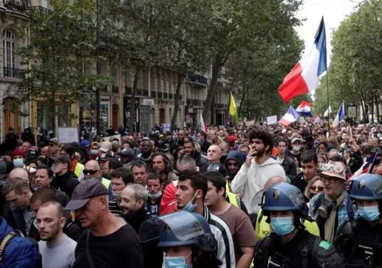 France : Les anti-pass toujours mobilisés