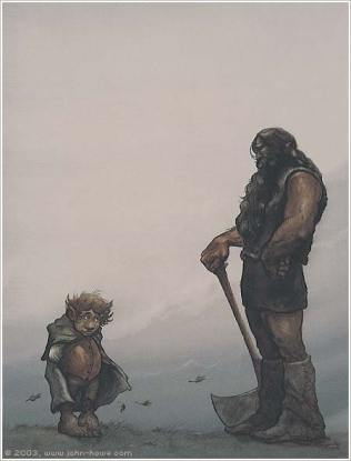 Bilbo et Beorn