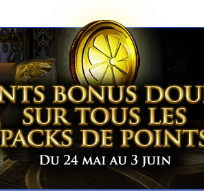 Double de Points Bonus !!!