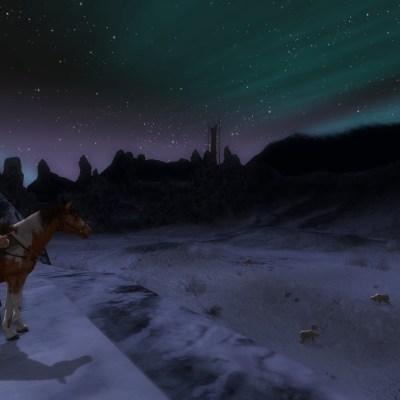Le Forochel et ses étendues glacées