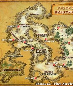 Les caches au trésor de l'Eriador