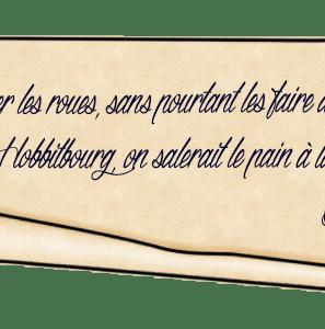 Anniversaire de Bilbo – Énigme 9