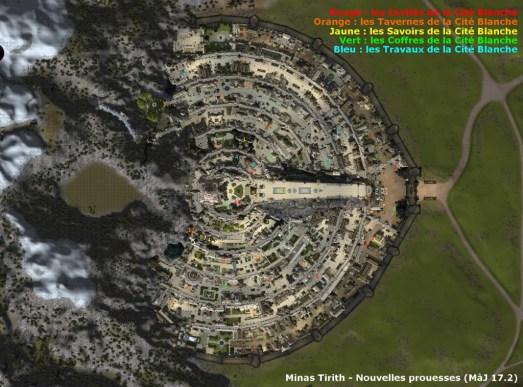 Minas_Tirith - Prouesses Explorateur de la cité blanche