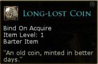 Piece perdue depuis longtemps