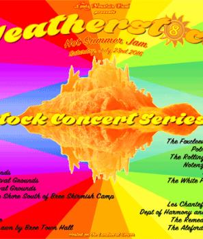 Weatherstock Concert Series 2016