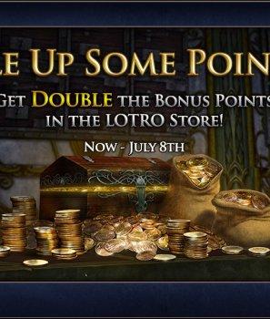 On double les points bonus ce week-end.