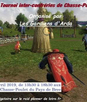 3ème édition du tournoi inter-confréries de Chasse-Poulet !
