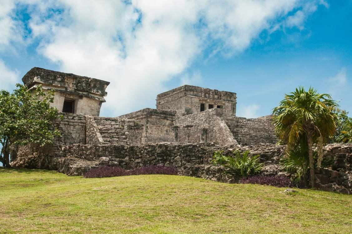 el castillo, ruines de Tulum au Mexique