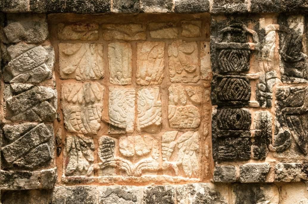 valladolid chitzen itza bas relief
