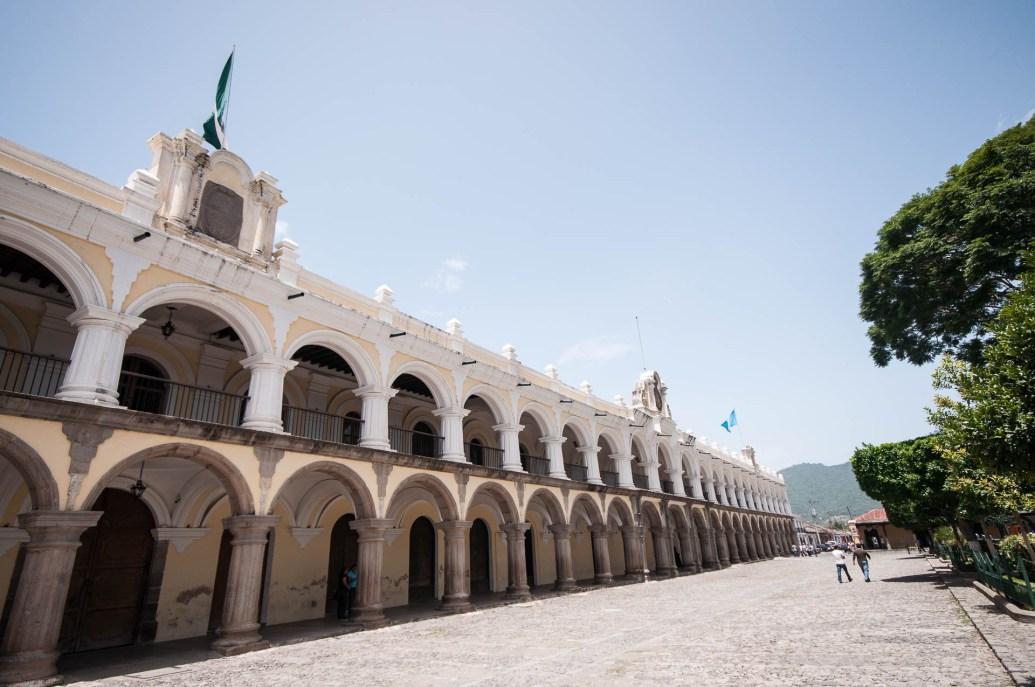Place centrale d'Antigua
