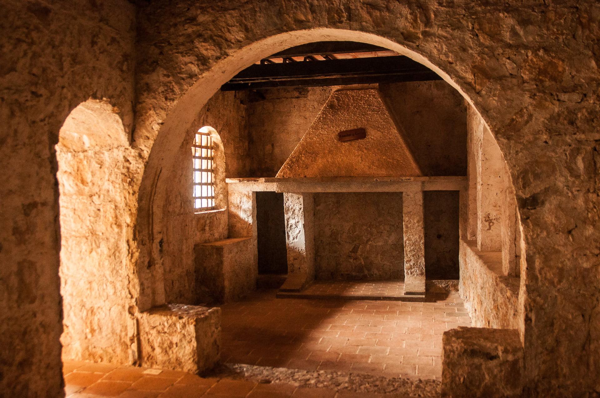 A l'intérieur du castillo