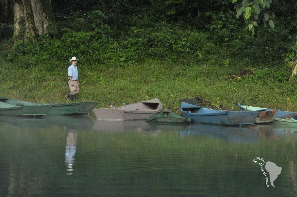 pêcheur du lago de Yojoa