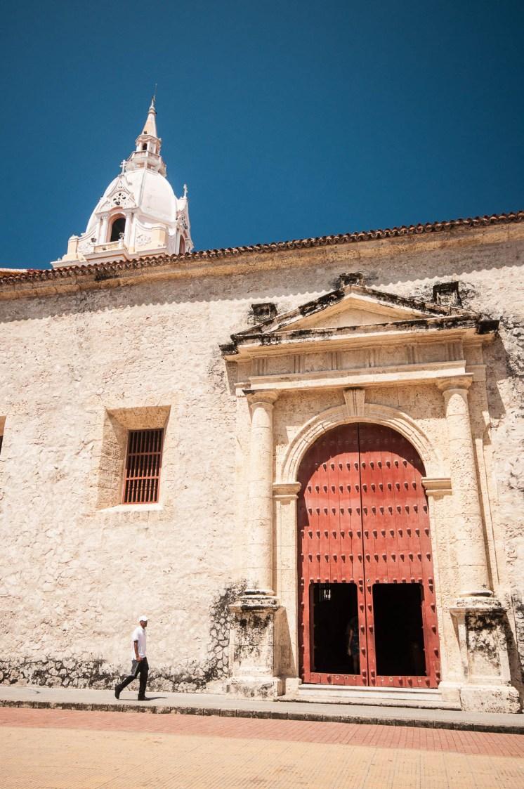 Une des église de Carthagène