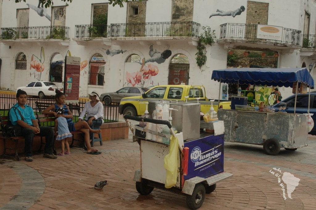 stand hot dog Casco Viejo panama city