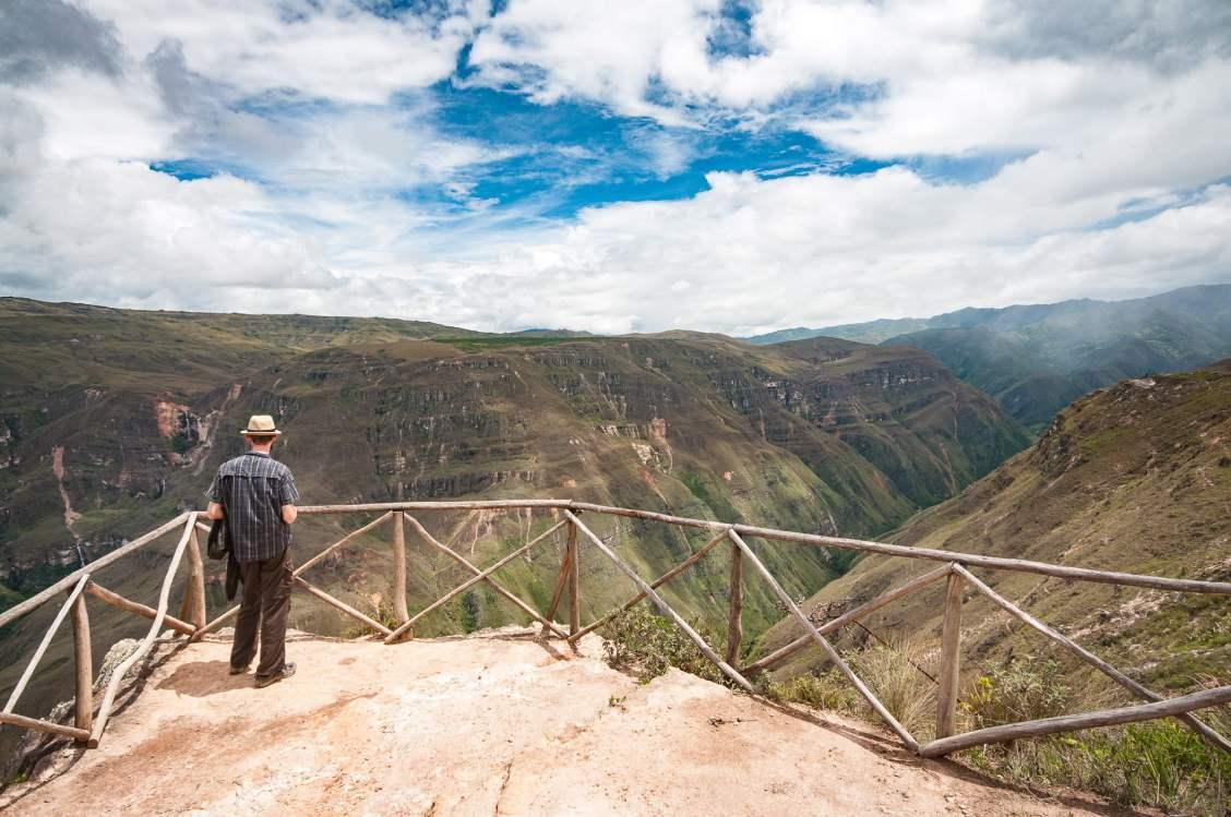 Canyon au mirador de Huancas