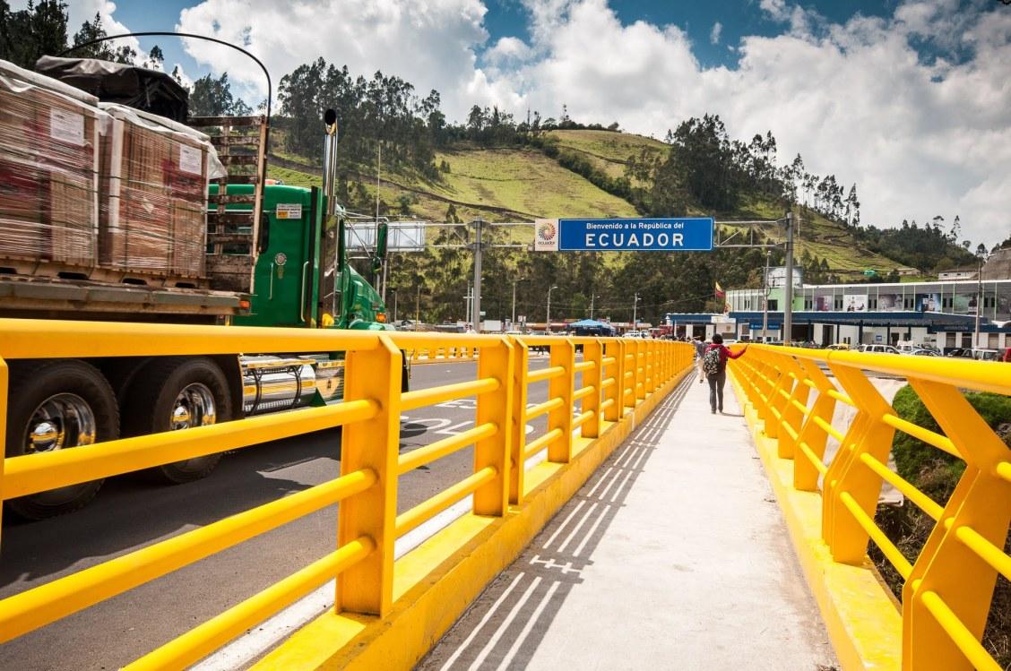 frontière colombie équateur par Ipalies tulcan