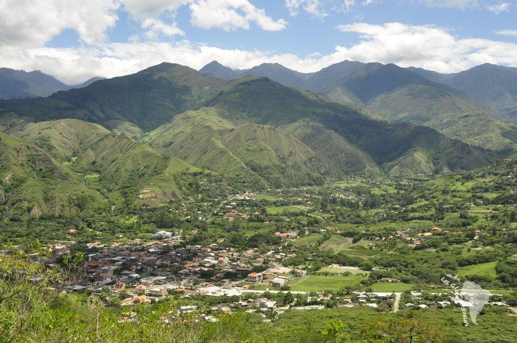 Vue sur Vilcabamba