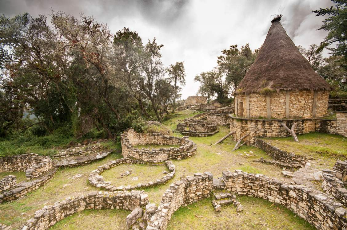 ruines kuelap habitations